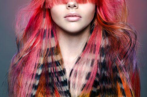 Haarfotografie Roze/Zebra